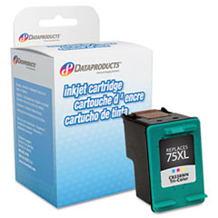 DPSDPC75XL - Dataproducts Remanufactured CB338WN (75XL) High-Yield Ink, 520 Page-Yield, Tri-Color