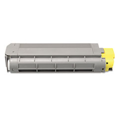 DPSDPCC6100Y - Dataproducts DPCC6100Y Compatible High-Yield Toner, 5000 Page-Yield, Yellow