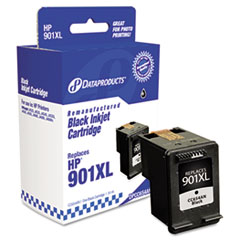 DPSDPCC654AN - Dataproducts Remanufactured CC654AN (901XL) High-Yield Ink, 700 Page-Yield, Black