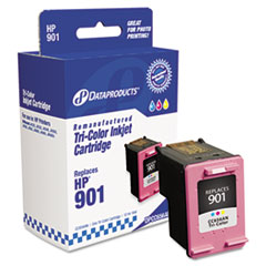 DPSDPCC656AN - Dataproducts Remanufactured CC656AN (901) Ink, 360 Page-Yield, Tri-Color