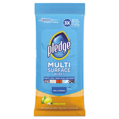 DRKCB214629 - Pledge® Multi-Surface Cleaner Wet Wipes
