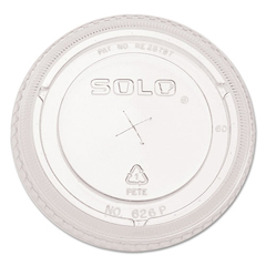 DRC626TSCT - SOLO® Cup Company Ultra Clear™ Dome Cold Cup Lids