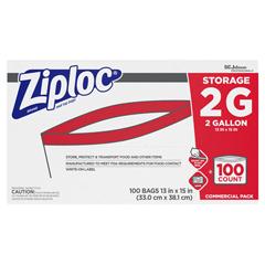 DRK94603 - Ziploc® Double Zipper Bags
