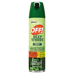 DRKCB717649 - OFF! Deep Woods Dry Insect Repellent