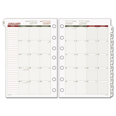 DRN068685Y - AT-A-GLANCE® Day Runner® Monthly Planning Pages Refill