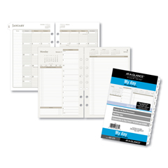 DRN481225 - AT-A-GLANCE® Day Runner® Two-Pages-Per-Day Planning Pages Refill