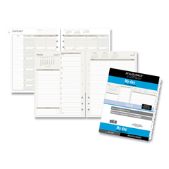 DRN491225 - AT-A-GLANCE® Day Runner® Two-Pages-Per-Day Planning Pages Refill