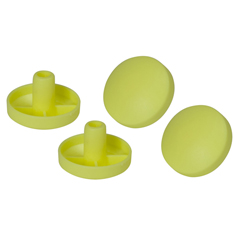 10123 - Drive Medical - Replacement Tennis Ball Glide Pads, 2 Pairs