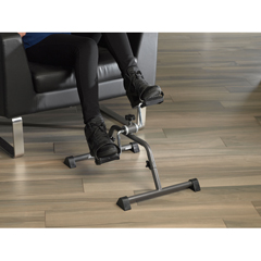 10270KDRSV-1 - Drive Medical - Exercise Peddler with Attractive Silver Vein Finish