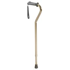 10350-1 - Drive MedicalRehab Ortho K Grip Offset Handle Cane w/Wrist Strap