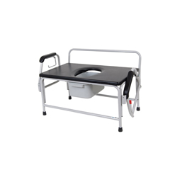 11132-1 - Drive MedicalBariatric Extra Wide Drop Arm Bedside Commode Seat