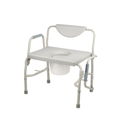 11135-1 - Drive MedicalBariatric Drop Arm Bedside Commode Chair