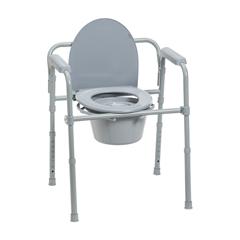 11148-1 - Drive MedicalFolding Steel Bedside Commode