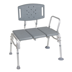12025KD-1 - Drive MedicalHeavy Duty Bariatric Plastic Seat Transfer Bench