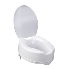 12067 - Drive MedicalRaised Toilet Seat with Lock and Lid