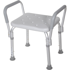 DRV12440KD-1 - Drive MedicalShower Bench with Removable Padded Arms