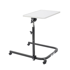 13000 - Drive MedicalPivot and Tilt Adjustable Overbed Table Tray