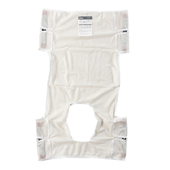 DRV13026 - Drive MedicalPatient Lift Sling, Polyester Mesh with Commode Cutout