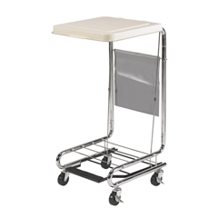 13070 - Drive MedicalHamper Stand with Poly Coated Steel