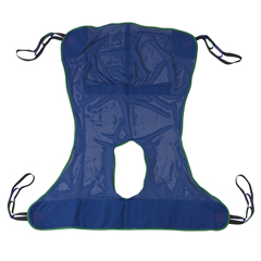 13221L - Drive MedicalFull Body Patient Lift Sling w/Commode Cutout
