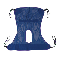 13221M - Drive MedicalFull Body Patient Lift Sling w/Commode Cutout