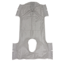 DRV13251D - Drive MedicalPatient Lift Commode Sling with Head Support