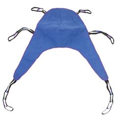 DRV13262L - Drive Medical - Divided Leg Patient Lift Sling with Headrest, Large