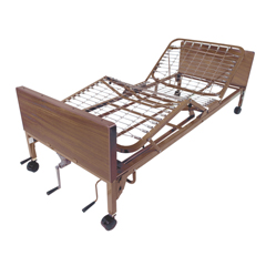 15003 - Drive MedicalMulti Height Manual Hospital Bed