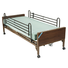 15030BV-PKG-T - Drive MedicalDelta Ultra Light Semi Electric Bed