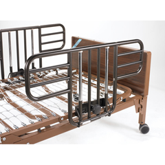 15033BV-HR - Drive MedicalDelta Ultra Light Full Electric Hospital Bed with Half Rails