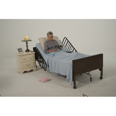 15033 - Drive Medical - Delta Ultra Light Full Electric Hospital Bed, Frame Only
