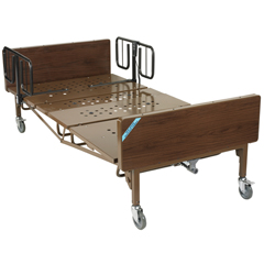 15300BV-1HR - Drive MedicalFull Electric Bariatric Hospital Bed
