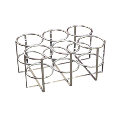 18114 - Drive Medical - Economy Oxygen 6 Cylinder Rack, E, D or C Cylinders Only