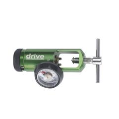 DRV18302GMN - Drive MedicalCGA 870 Mini Oxygen Regulator 0-15 LPM Barb Outlet