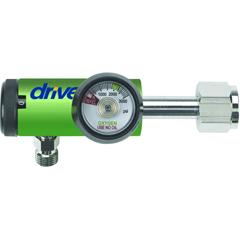 DRV18307G - Drive MedicalCGA 540 Oxygen Regulator 0-4 LPM DISS Outlet, Pediatric
