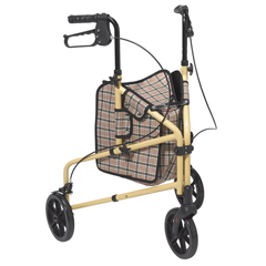 199 - Drive Medical - Winnie Lite Supreme 3 Wheel Walker Rollator