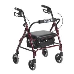 DRV301PSRN - Drive MedicalJunior Rollator with Padded Seat