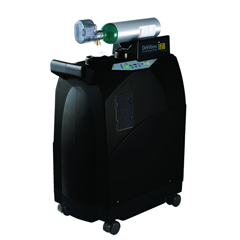 DRV535D-2C870 - Drive MedicaliFill Personal Oxygen Station with Integrated 870 Post Valve and Case, 2 C Cylinders
