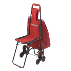 DRV607R - Drive MedicalDeluxe Rolling Shopping Cart with Seat