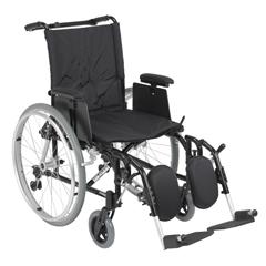 AK518ADA-AELR - Drive MedicalCougar Ultra Lightweight Rehab Wheelchair