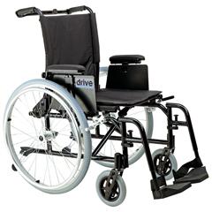AK518ADA-ASF - Drive MedicalCougar Ultra Lightweight Rehab Wheelchair