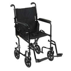 ATC17-BK - Drive MedicalLightweight Transport Wheelchair