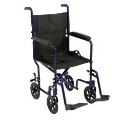 ATC19-BL - Drive MedicalLightweight Transport Wheelchair