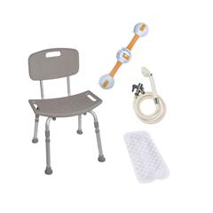 BATHBUNDLE - Drive MedicalShower Tub Chair Bathroom Safety Bundle