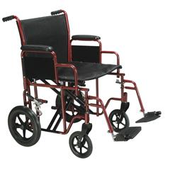 BTR20-R - Drive MedicalBariatric Heavy Duty Transport Wheelchair with Swing Away Footrest