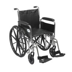 CS20DFA-SF - Drive MedicalChrome Sport Wheelchair