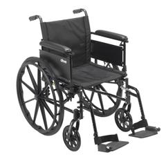 DRVCX420ADFA-SF - Drive MedicalCruiser X4 Wheelchair