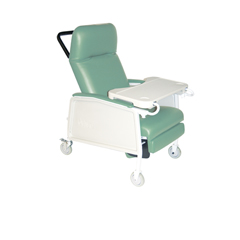 D574-J - Drive Medical3 Position Geri Chair Recliner, Jade