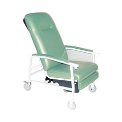 D574EW-J - Drive Medical3 Position Heavy Duty Bariatric Geri Chair Recliner, Jade
