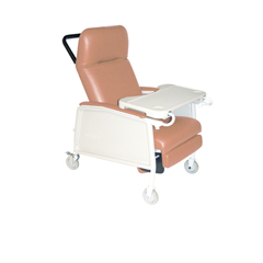 D574EW-R - Drive Medical - 3 Position Heavy Duty Bariatric Geri Chair Recliner, Rosewood